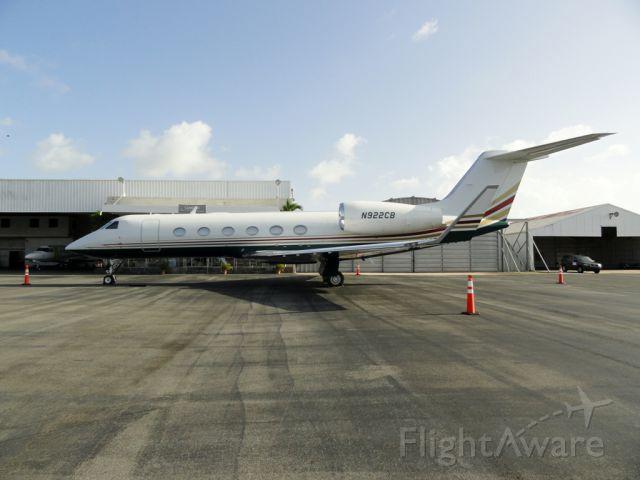 Gulfstream Aerospace Gulfstream IV (N922CB)