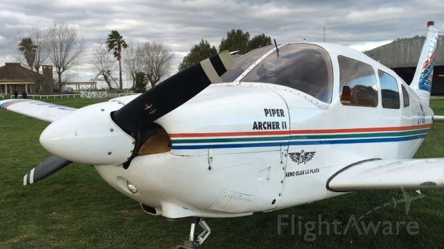 Piper Cherokee (LV-OMI) - Landed in Ensenada
