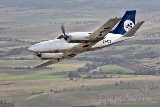Cessna 404 Titan (VH-SZA) - One of two C404 operated by Airspeed Aviaiton, the Hunter Valley's main FIFO airline