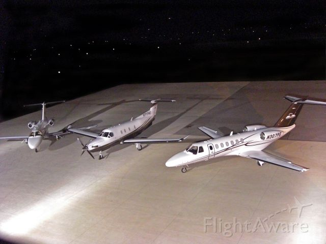 Cessna Citation CJ3 (N307PE) - N207BS, 717NC, 307PE