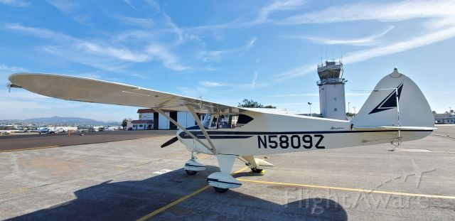 Piper PA-22 Tri-Pacer (N5809Z) - Transient