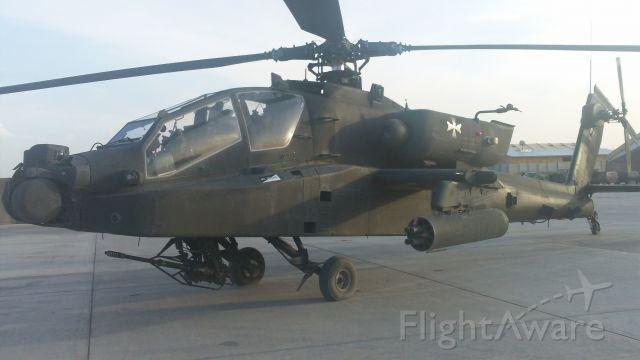 — — - US Army AH-64 Apache at Kandahar Airfield, Afghanistan, 2011