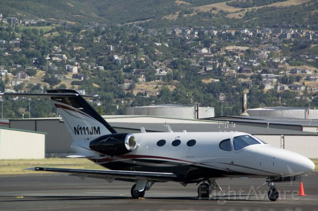 Cessna Citation Mustang (N111JM) - A cessna mustang that came in from Casper Wyoming.