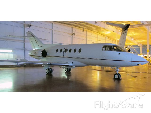 C-FBUR — - A very good business jet with a stand-up cabin.