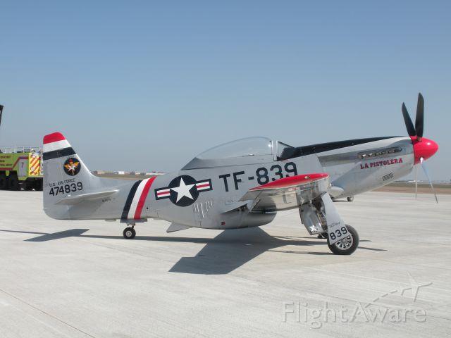 North American P-51 Mustang (N50FS) - WBCA Air Show 2010