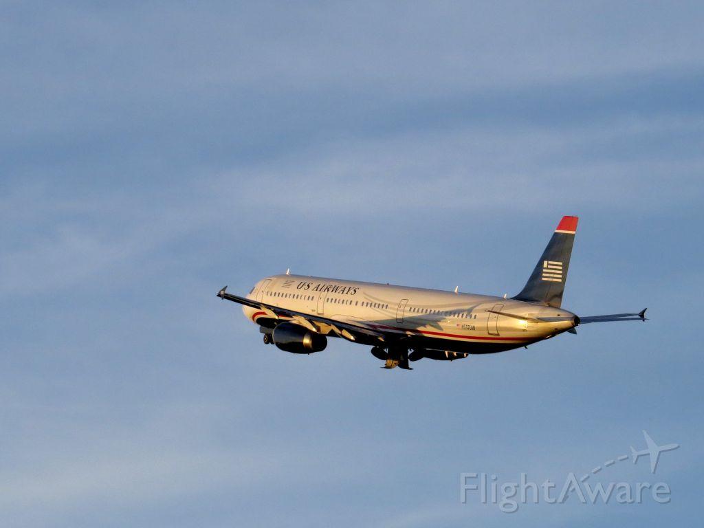 Airbus A321 (N537UW) - July 15, 2013