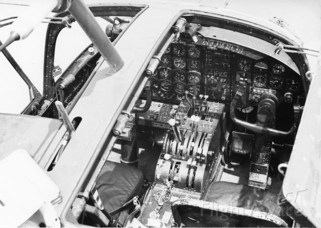"""Douglas A-26 Invader (N4988N) - Oct 1969. Cockpit of IF-679 Special Kay.""""  Currently reing restored at KFTW"""