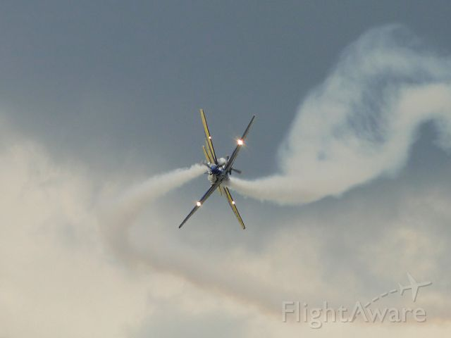 """— — - """"Smoke Squadron"""" for the 1st time in the city anniversary Itupeva-SP, Brazil."""