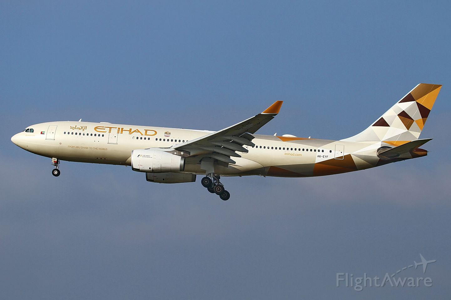 Airbus A330-200 (A6-EYF) - date: 27-Oct-2015