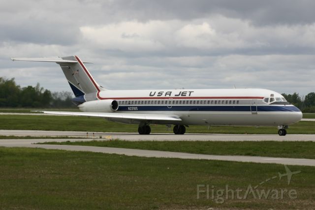 McDonnell Douglas DC-9-30 (N231US) - May 22, 2006 - arrived London