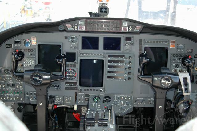 Cessna Citation II (N132MT) - Cockpit view of 132MT. Citation Bravo.