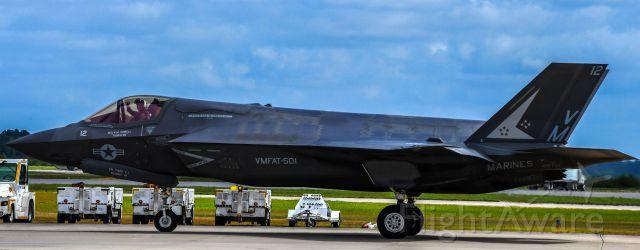 "16-8721 — - F-35B Lightning II taken at MCAS Beaufort - April 29, 2017  <br />Maj. ""Thurston"" Howell  :-)"