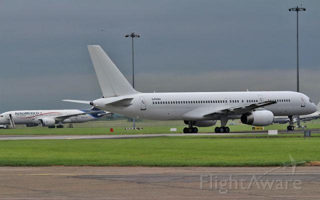 Boeing 757-200 (G-POWH) - aeromexico passengers finally depart shannon on a titan airways b757 g-powh to paris 30/6/15.