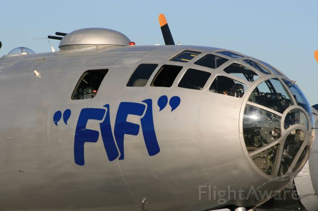 — — - CAF B-29 just arrived at LGB for AOPA Airport Fest