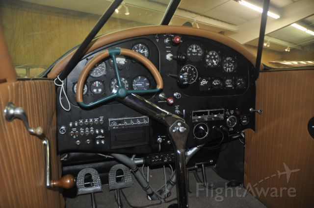Beechcraft Staggerwing (N962W) - Panels the way they used to be