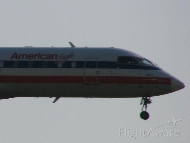 Canadair Regional Jet CRJ-200 (N876AS) - American Eagle flight 2652 arriving from Laredo, TX