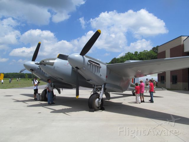 """— — - At the time, the only airworthy Mosquito left in the world. May 2014 """"Wings Over the Beach"""". Military Air Museum  Virginia Beach, VA"""