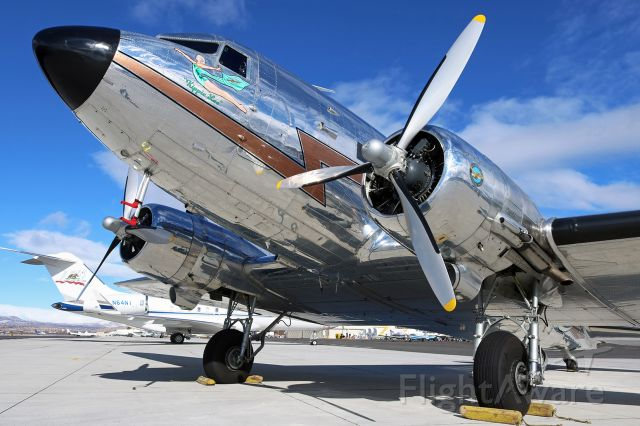 "Douglas DC-3 (N3006) - ""Kippie Lee,"" the classic (and gorgeous) DC-3 in which a wish came true."