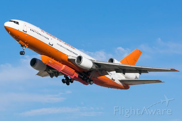 """McDonnell Douglas DC-10 (N17085) - Tanker 911 lifts on from BOI for the first time in 2 years. She spent a week at NIFC. It was so nice to see the VLATs back in BOI! Full Quality Photo --> <a rel=""""nofollow"""" href=""""http://www.jetphotos.com/photo/9120673"""">https://www.jetphotos.com/photo/9120673</a>"""