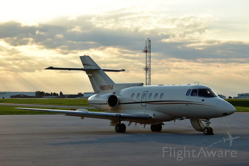 Raytheon Hawker 800 (N801RM)