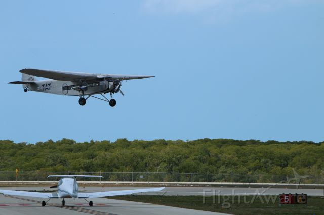 NC9645 — - Last I read this Tri-Motor was owned by Evergreen and loaned to EAA to fly about the nation for publicity and fund raising. These photos taken a Naples Airport in February 2015