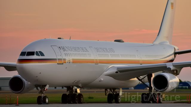 Airbus A340-300 — - German Air Force. Taking a German delegation to Ottawa for a state visit.