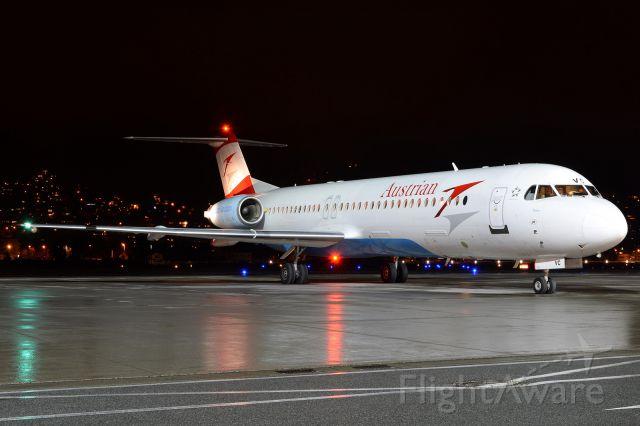 Fokker 100 (OE-LVC)