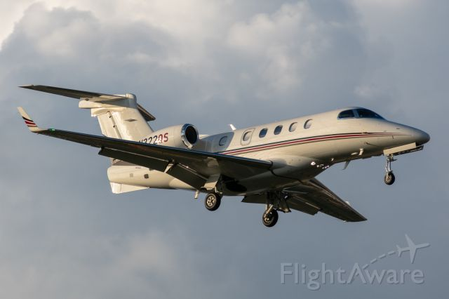 Embraer Phenom 300 (N322QS) - Landing at Dallas Love Field August 25, 2020.