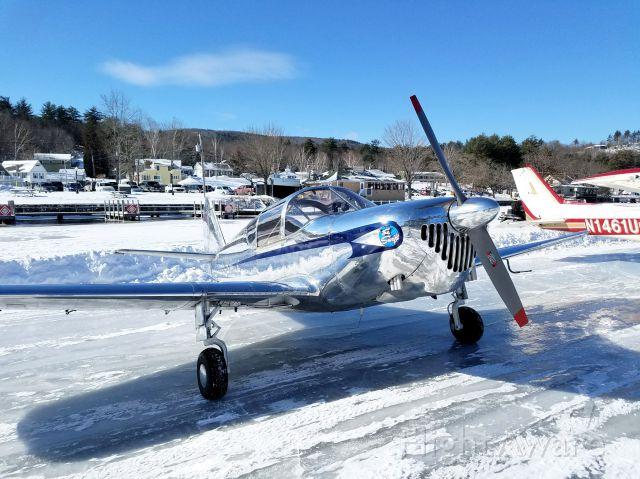 N3796K — - Ice runway Alton Bay, NH