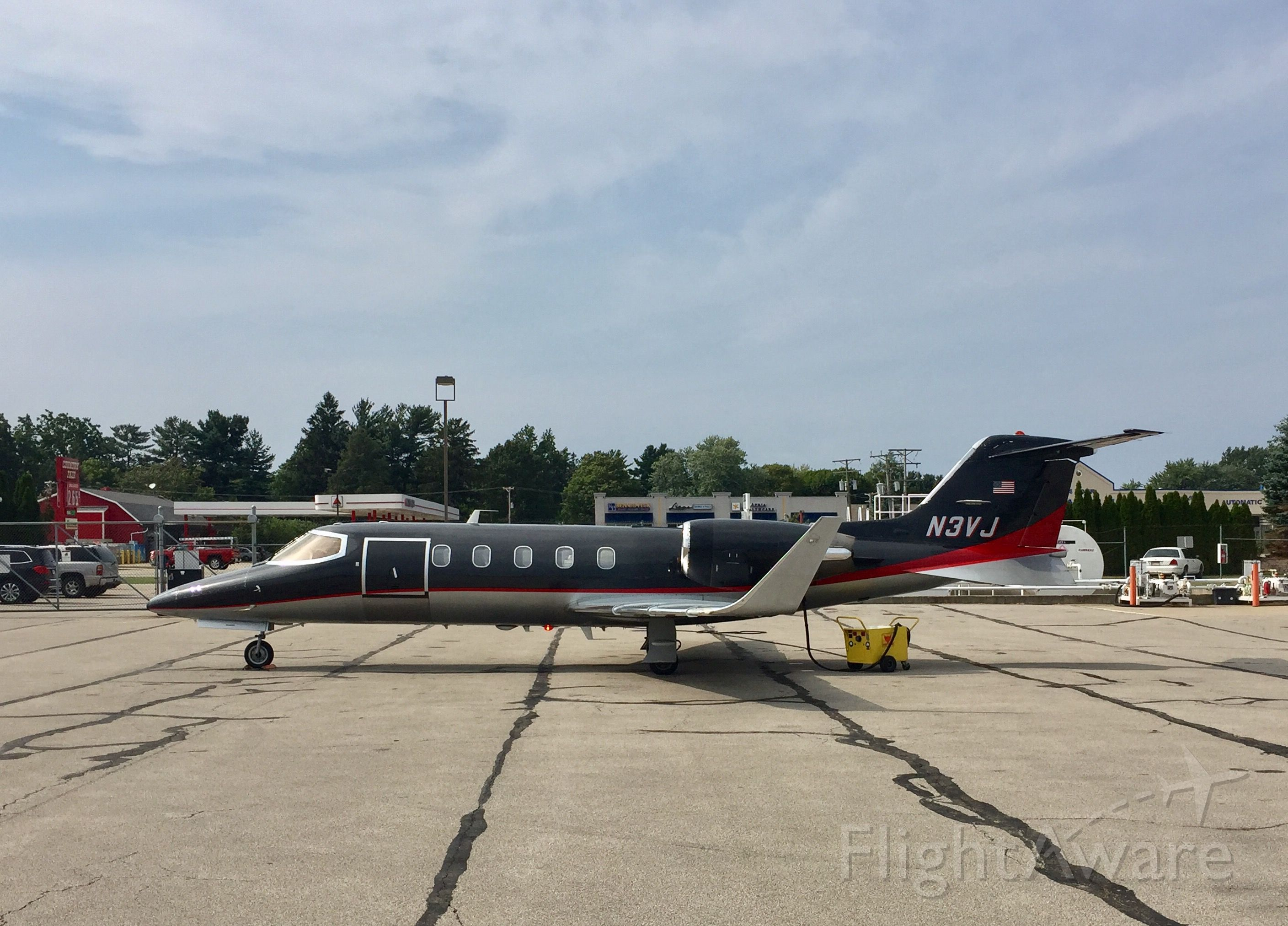 Learjet 31 (N3VJ) - N3VJ was preparing for a flight from Tom Ridge Field (Erie, PA) to an unknown destination on 8/28/17 around 3 PM EST.