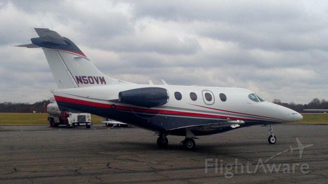 "Beechcraft Premier 1 (N50VM) - Executive Jet Management ""Jet Speed"" Flight 525 heading towards runway 33 at KINT for departure"