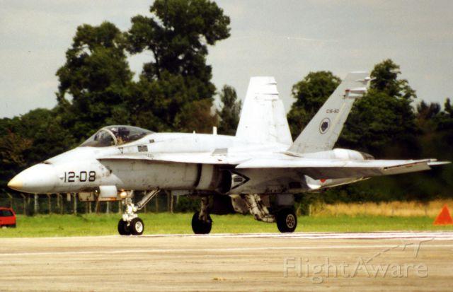 McDonnell Douglas FA-18 Hornet (N1208)