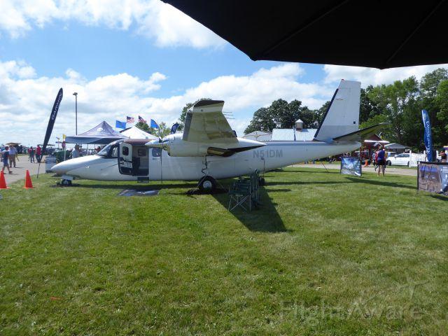 Aero Commander 500 (N51DM)