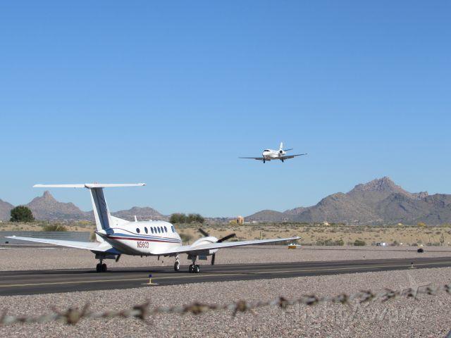 Beechcraft Super King Air 200 (N56CD)