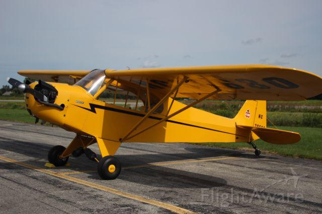 N38680 — - N38680 1941 PIPER J3C-65 DAVID A LEWIS BROADALBIN, NEW YORKbr /KDDH William H. Morse State Airport (Bennington, VT)br /Photo taken by Christopher Wright
