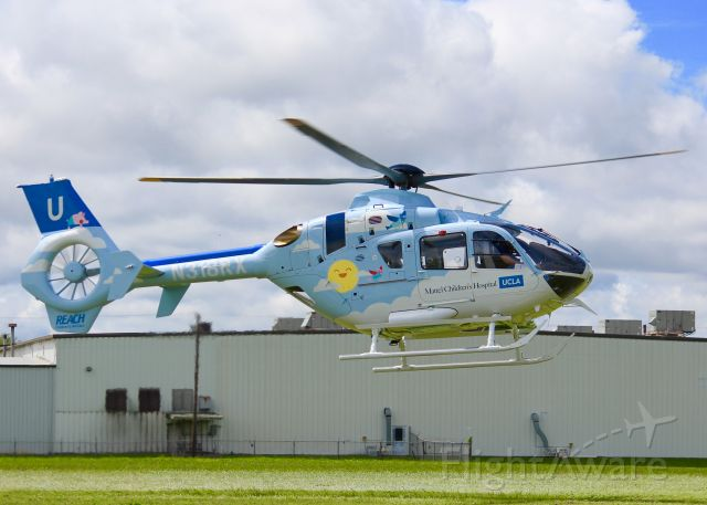 Eurocopter EC-635 (N318RX) - At Metro Aviation. A very kid friendly paint job.