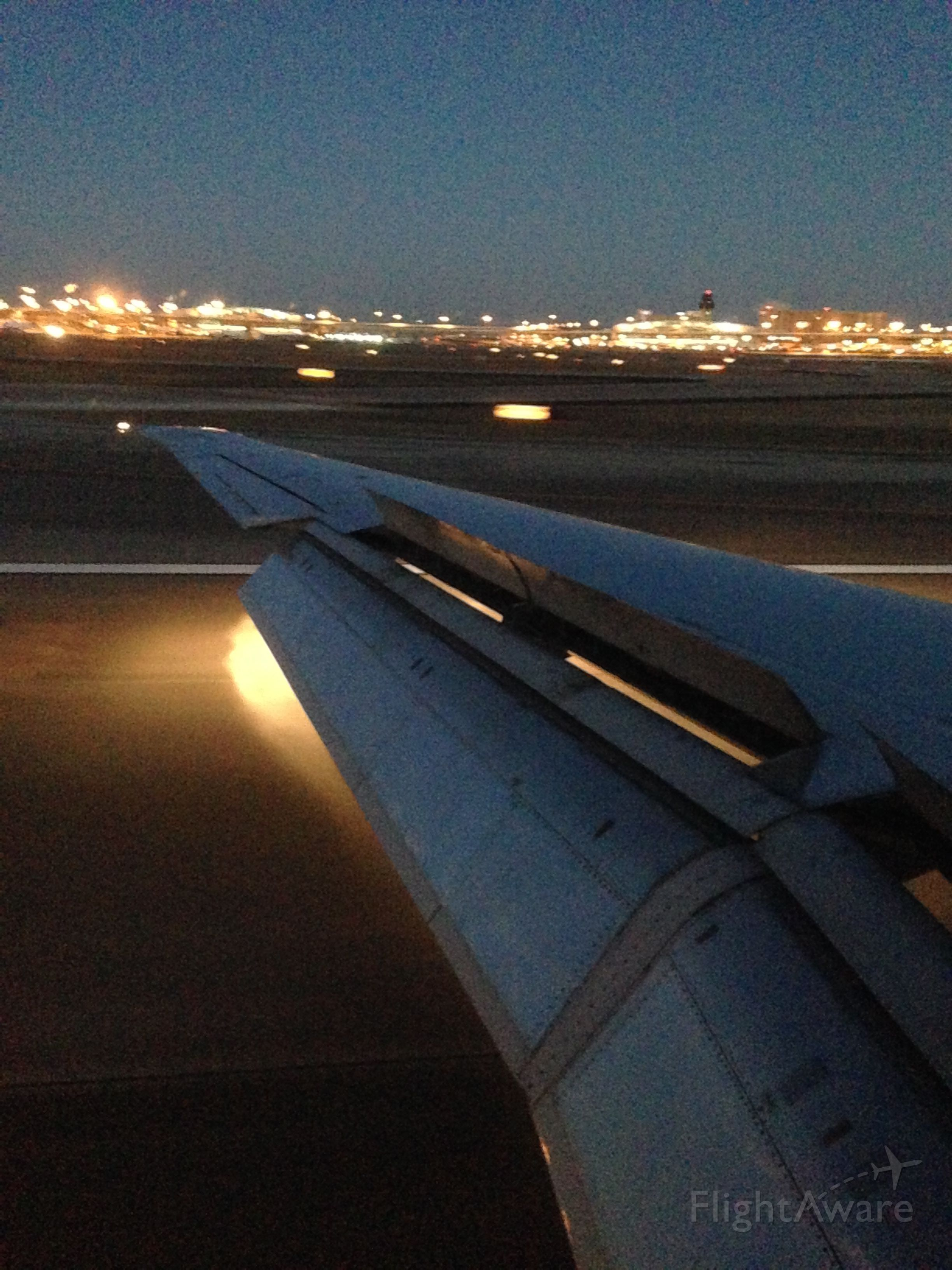 — — - Touchdown DFW on the way to Cabo Flt AA 1234