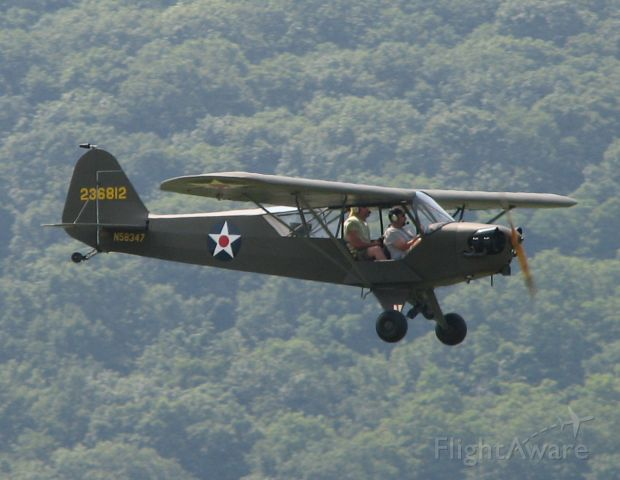 N58347 — - Landing at 2010 Sentamental Journey.  Definitely NOT a Skylane