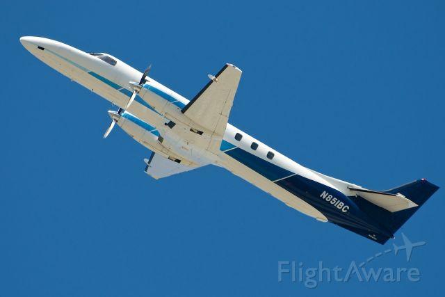 Fairchild Dornier SA-227DC Metro (N851BC) - Steep climb rate against a strong westerly wind.