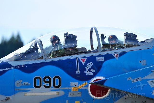 McDonnell Douglas F-15 Eagle (72-8090) - JASDF(Japan Air Self Defense Force)<br />飛行教導群(Tactical Fighter Training Group)<br />(Aggressor squadron)F-15DJ