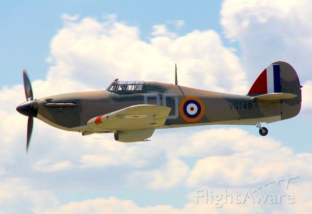 VH-JFW — - Hawker Hurricane Mk.XIIbr /Manufactured in 1942, Canadabr /Photo: 28.01.2017