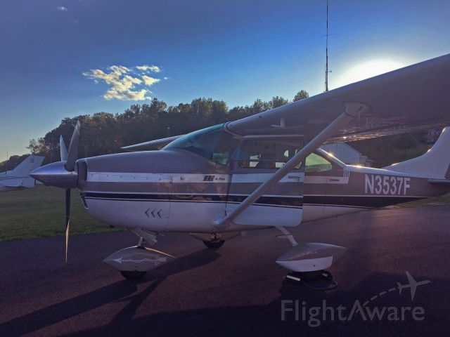 Cessna Skylane (N3537F) - All filled up at Potomac