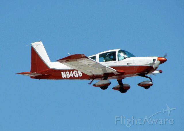 Grumman AA-5 Tiger (N84GS) - Landing at Shreveport