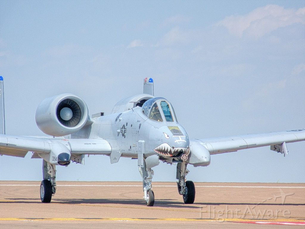 80-0194 — - A-10C from the  75th Fighter Squadron, Moody GA at Malmstrom AFB, MT Air Show