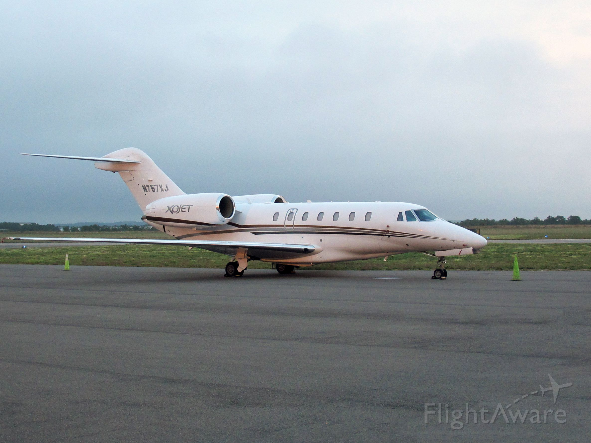 Cessna Citation X (N757XJ) - One of the fastest business jets in the market.
