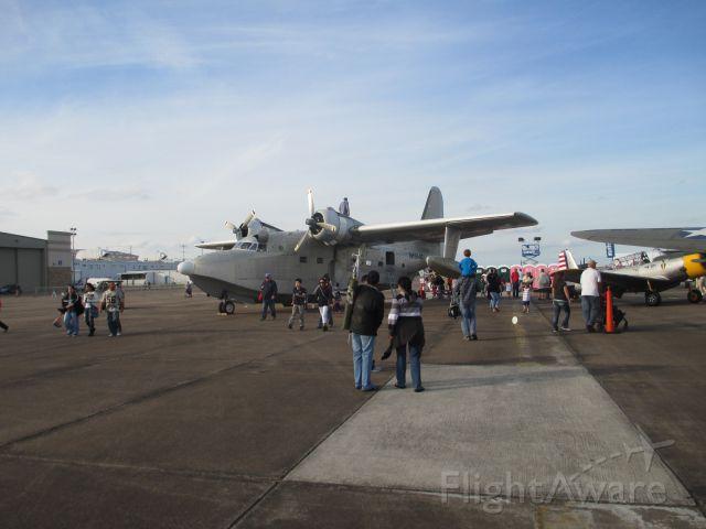 Grumman G-44 Widgeon (N1954Z) - 2014 Wings over Houston