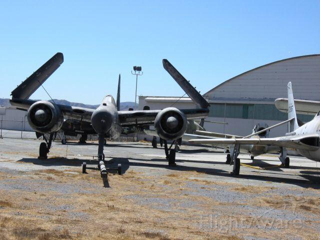 Northrop P-61 Black Widow — - At Chino Airport