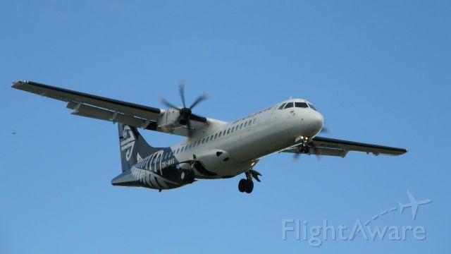 ATR ATR-72 (ZK-MVG)