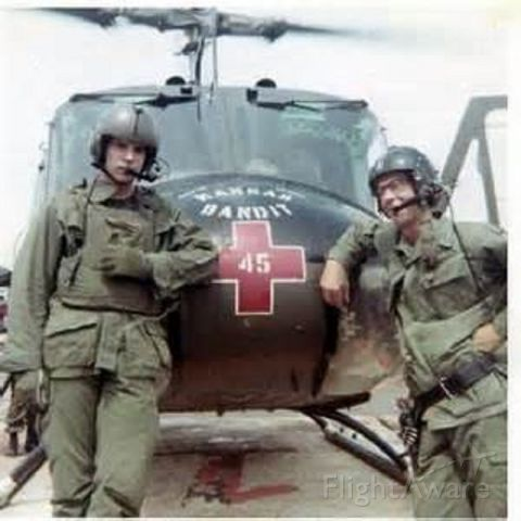Bell UH-1V Iroquois (ARMY) - We once were young men, no hero