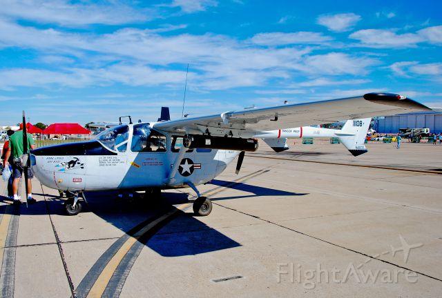 Cessna 336 Skymaster (N48233) - N48233  1968 Cessna O-2A (M337B) Super Skymaster 68-11108 - Marine Corps Air Station Miramar (MCAS Miramar) (IATA: NKX, ICAO: KNKX, FAA LID: NKX)<br />Photo: Tomás Del Coro<br />Miramar Air Show 2014<br />October 4, 2014